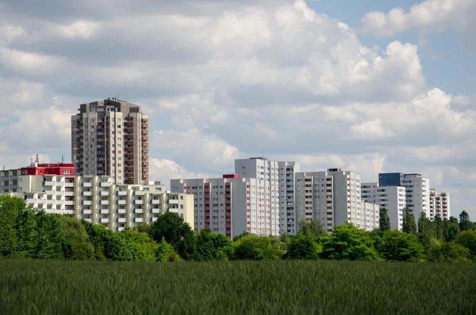 Gropiusstadt in Berlin